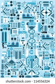 Imágenes, fotos de stock y vectores sobre Parts of Robot | Shutterstock