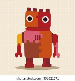 robot theme element