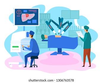 Ilustraciones, imágenes y vectores de stock sobre Robotic Surgery