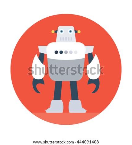 Robotics Vector Icon Stock Vector Royalty Free 444091408