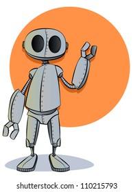 Robotics/Vector Robot Cartoon Character Mascot