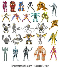 robots and cyborgs collection