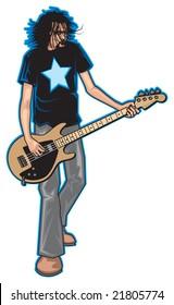 rock bass player