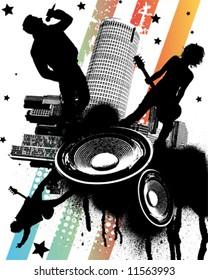 Rock Concert in the City