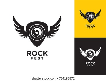 rock logo images stock photos vectors shutterstock