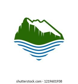 Rock of Gibraltar Logo Design Template