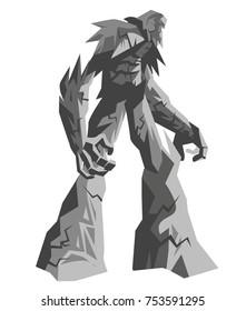 rock golem titan elemental