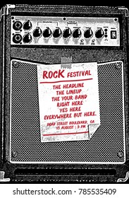 Rock Poster Flyer Template