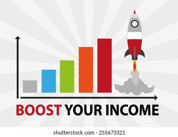 Rocket Chart, Boost Your Income