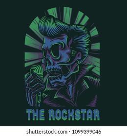 The Rockstar Illustration