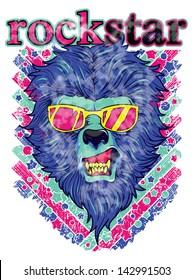 Rockstar lion