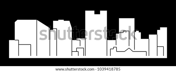Rockville, Maryland ( city silhouette )