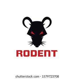 Rodent for business logo template