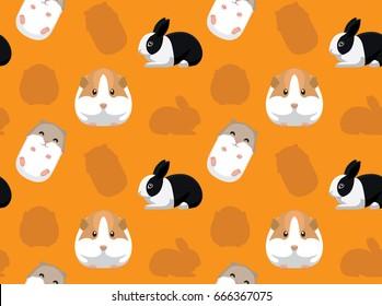 Rodent Pet Seamless Wallpaper 3