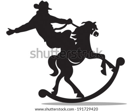 Rodeo Vector de stock (libre de regalías)191729420; Shutterstock