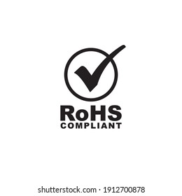 RoHS icon symbol sign vector