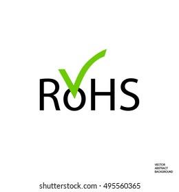 RoHs sign. RoHs logo