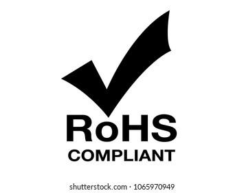 RoHS symbol .RoHs sign. RoHs compliant