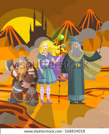 role characters magician elf