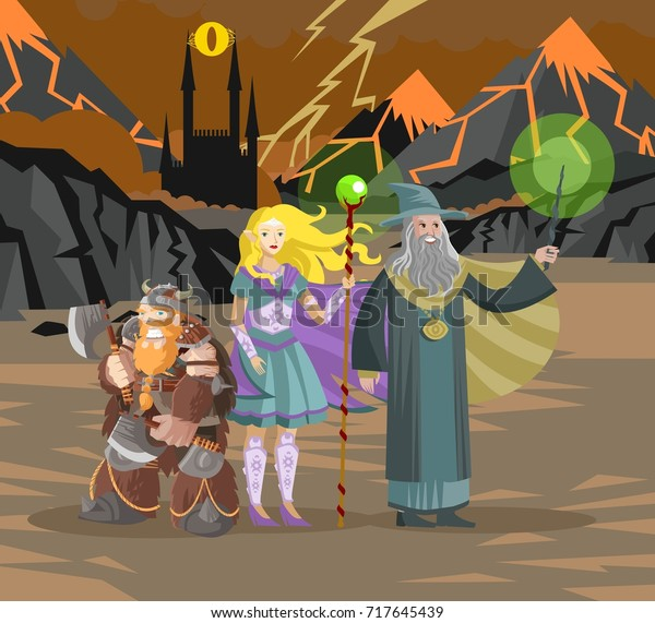 role party warriors in evil valley