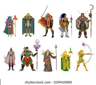 role videogame classes warrior