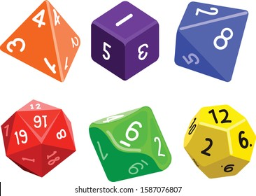 Roleplaying Game Dice Gaming Tabletop
