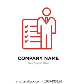 roles and responsibilities company logo design template, Business corporate vector icon, roles and responsibilities symbol