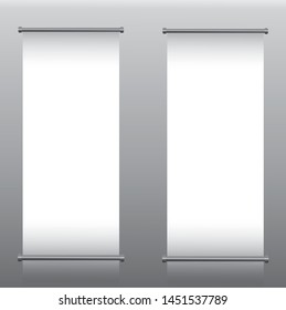 Roll Up Banner Template For All Purpose  (Business,exterior)