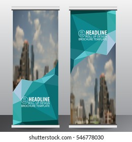 roll up business brochure flyer banner design vertical template vector, cover presentation ,infographics , abstract geometric background, modern publication x-banner and flag-banner,carpet design.