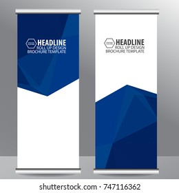 roll up business brochure flyer banner design vertical template vector, cover presentation abstract geometric background, modern publication x-banner and flag-banner,carpet design