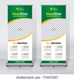 Retractable Banner Images Stock Photos Vectors Shutterstock - Retractable banner template