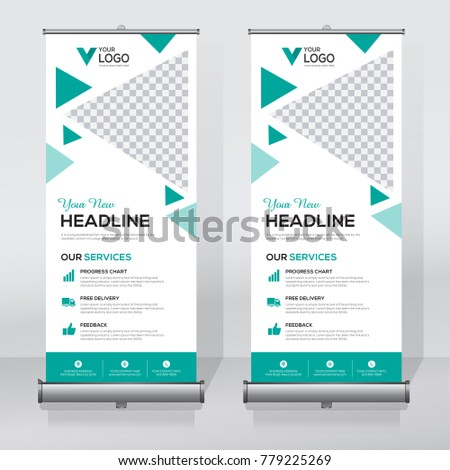 roll sale banner design template abstract stock vector royalty free