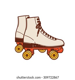 A roller skate classic commonly used and popular in the 70s and 80s, even early 90s.