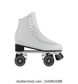 Roller skates vector design illustration isolated on white background