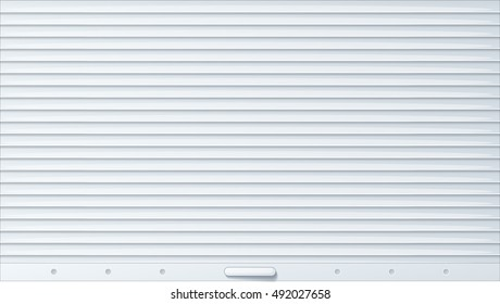 Rolling shutter. Cartoon vector background