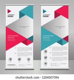 ROLLUP BANNER BUSINESS VECTOR TEMPLATE / SALES BANNER