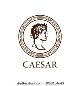 Roman Caesar logo