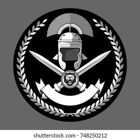 Roman Centurion Heraldic Insignia