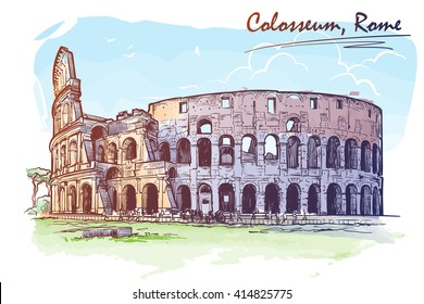 Drawings Of Ancient Rome Images Stock Photos Vectors Shutterstock