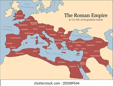 Ancient Mediterranean Map Stock Vectors, Images & Vector Art ...