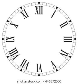 Roman Clock Images Stock Photos Amp Vectors Shutterstock