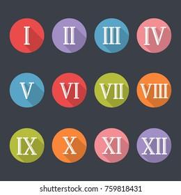 Roman Numbers Images Stock Photos Amp Vectors Shutterstock