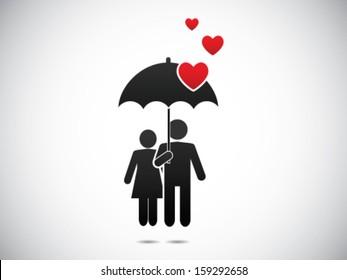 Romance Under the Umbrella