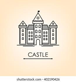 Romanesque, castle line, tower, history, architecture