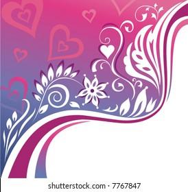 Romantic background.