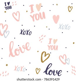 Romantic background. Perfect design for posters, cards, textile, web pages.
