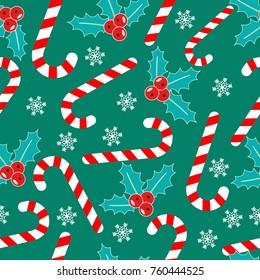 Romantic Christmas pattern