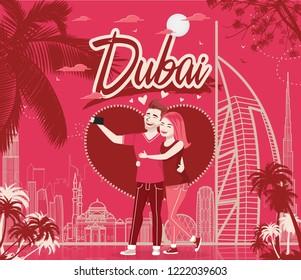 Romantic Couple in Dubai