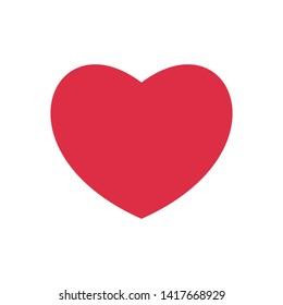 Romantic Heart Icon for Marriage Celebration