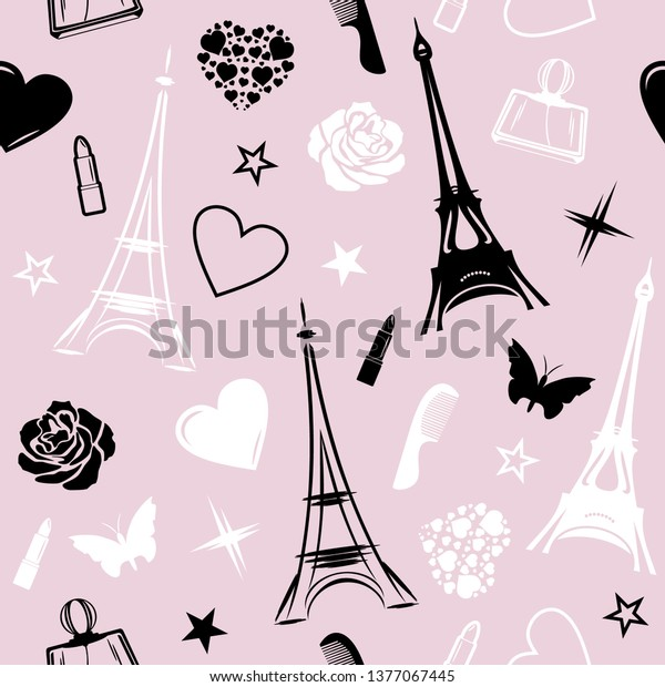 romantic-paris-seamless-pattern-design-6